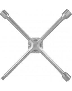 """Ключ баллонный крестообразный, усиленный, 17х19х21x1/2""""DR, 380 мм"""