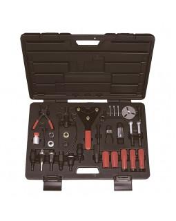 Набор для обслуживания компрессора кондиционера, кейс, 37 предметов МАСТАК 105-30037C