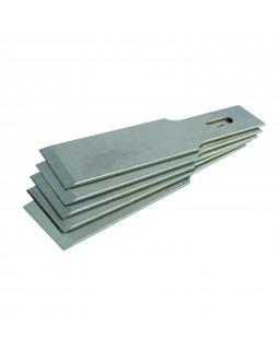 Набор лезвий для скребкового ножа 107-03012, 12 мм, 5 шт МАСТАК 107-03112