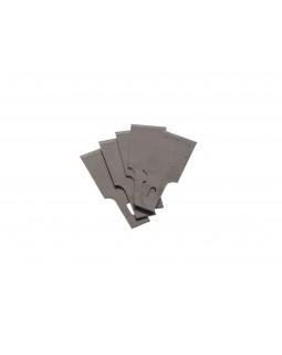 Набор лезвий для скребкового ножа 107-03012, 16 мм, 5 шт МАСТАК 107-03212