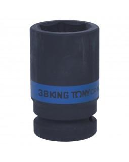"Головка торцевая ударная глубокая шестигранная 1"", 38 мм KING TONY 843538M"