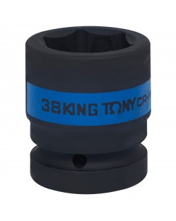 "Головка торцевая ударная шестигранная 1"", 38 мм KING TONY 853538M"