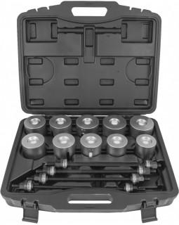 Инструмент универсальный для замены сайлентблоков в наборе, 44-82 мм, 24 предмета