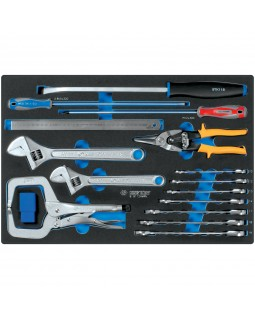 Набор инструментов арматурщика, ложемент, 24 предмета KING TONY 9-91124MRV