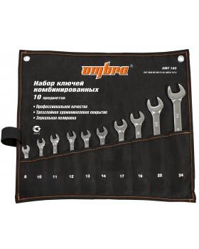 Набор ключей гаечных комбинированных в сумке, 8-24 мм, 10 предметов