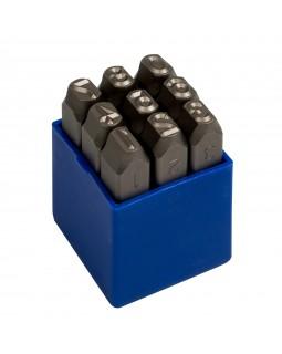 Набор ударных клейм 8 мм, цифры, 9 предметов KING TONY 11409SQ08