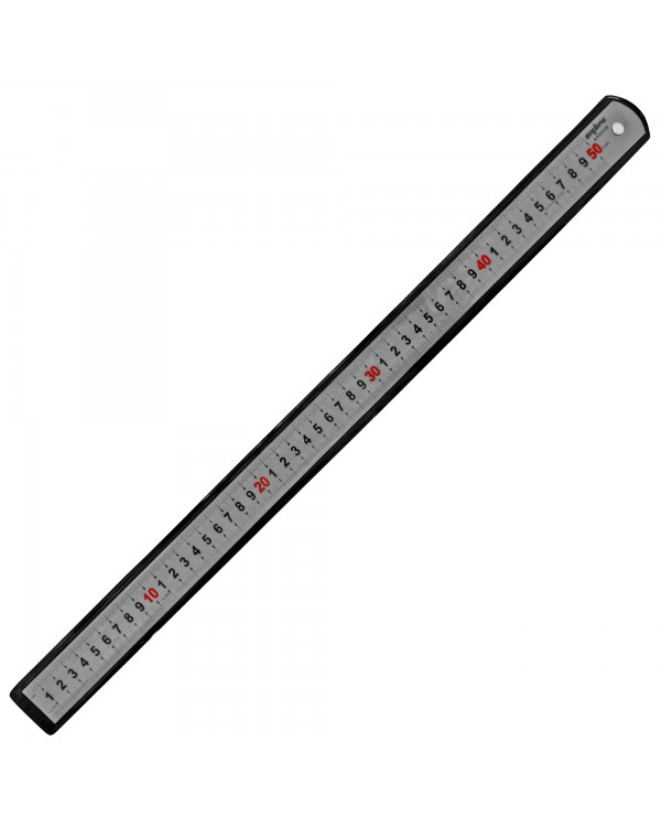 Линейка металлическая, 500 мм