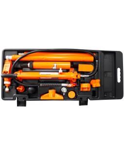 Набор гидравлического инструмента для кузовного ремонта 10 т. 17 предметов