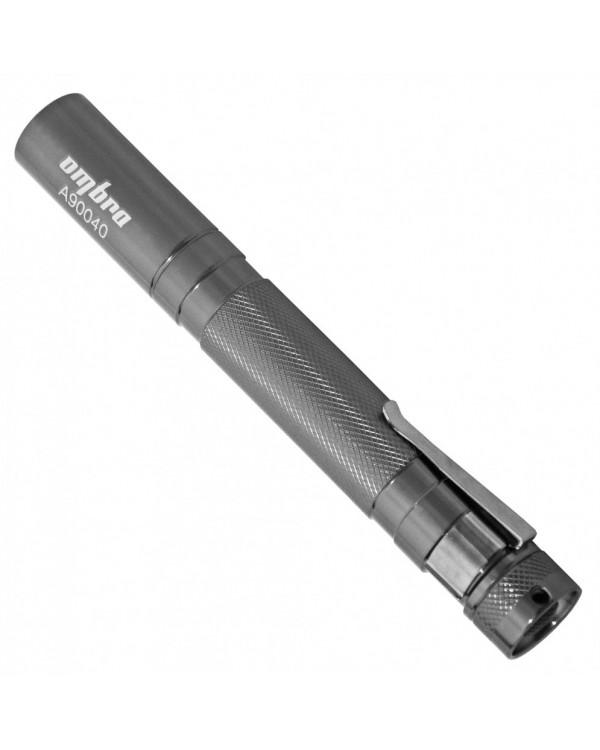 Фонарь светодиодный, карманный, с фокусированным световым пучком, L-140 мм, Ø-15 мм