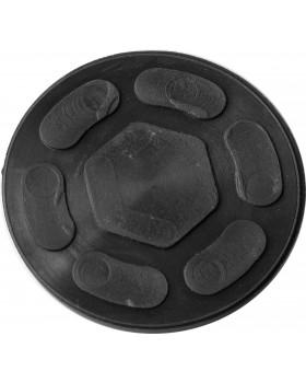 Опора резиновая для подкатных домкратов, Ø-97 мм, Н-11 мм