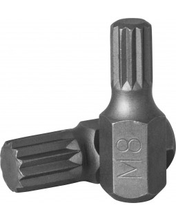 Вставка-бита 10 мм DR SPLINE, M8, 30 мм