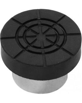 Адаптер бутылочного домкрата с резиновой накладкой для штока D-28мм