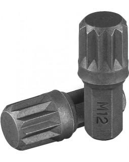 """Вставка-бита 5/16""""DR SPLINE, M12, 30 мм"""