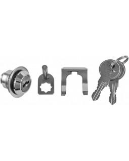 Замок с двумя ключами для тележки OMBRA