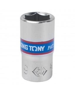 "Головка торцевая стандартная шестигранная 1/4"", 9 мм KING TONY 233509M"
