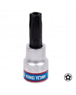 """Насадка (бита) торцевая 3/8"""", TORX PLUS, IPR50, L = 50 мм, 5-ти лучевой KING TONY 302D50"""