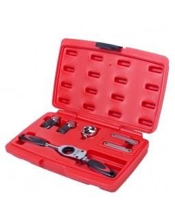 Набор инструментов для нарезания резьбы, кейс, 6 предметов МАСТАК 351-00006C