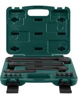 Универсальный набор радиусных ключей для удержания шкивов и маховиков
