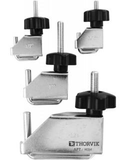 HCS4 Зажимы для шлангов металлические в наборе, 4 предмета