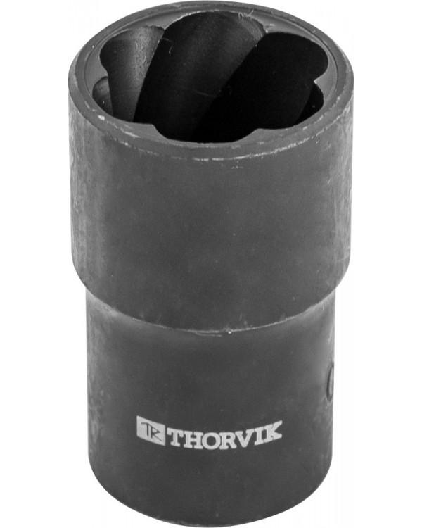 """BES1221 Головка торцевая спиральная для поврежденного крепежа 1/2""""DR, 21 мм"""