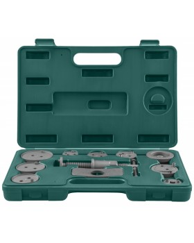 Комплект инструмента для возврата поршней тормозных цилиндров дисковых тормозов 11 предметов