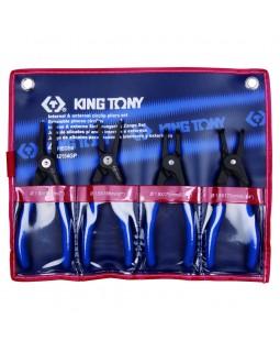 Набор съемников стопорных колец, 4 предмета KING TONY 42154GP