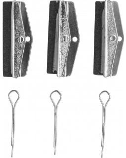 BCH3RK Сменные шлифовальные насадки хона для расточки гидравлических цилиндров, 28.5 мм