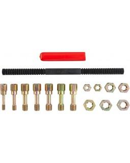 RTK15 Набор для восстановления резьбы M6-М12, 15 предметов