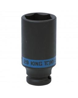 "Головка торцевая ударная глубокая шестигранная 1/2"", 29 мм KING TONY 443529M"