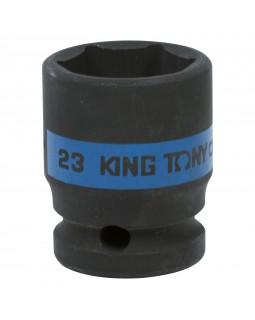 "Головка торцевая ударная шестигранная 1/2"", 23 мм KING TONY 453523M"