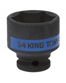 "Головка торцевая ударная шестигранная 1/2"", 34 мм KING TONY 453534M"