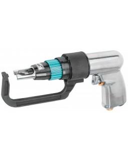 Набор: дрель пневматическая для удаления сварочной точки 1800 об./мин., сверла и фильтр, 9 предметов