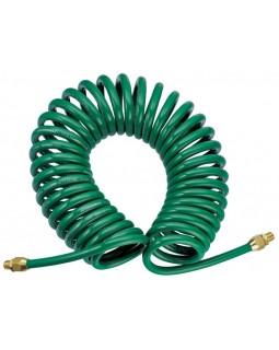 Шланг спиральный для пневмоинструмента, 8 мм х 12 мм х 8 м