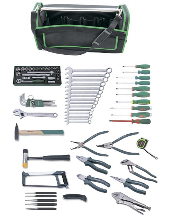 Набор инструмента универсальный в сумке, 78 предметов (переносная сумка Tetoron)