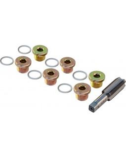 ODPRK1715 Набор для восстановления резьбы сливного отверстия поддона M17х1.5, 7 предметов