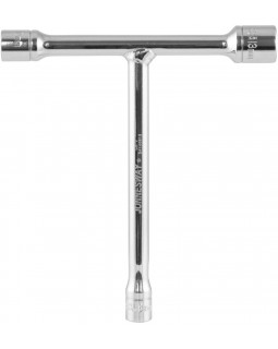 S41H0813 Ручка Т-образная 3-стороняя с торцевыми головками, 8,10,13 мм, L-130-140 мм