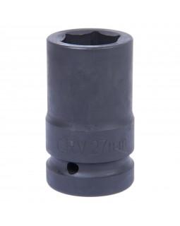 """Головка торцевая глубокая шестигранная 1"""", 27 мм, для мультипликатора МАСТАК 005-80627"""
