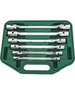 Набор карданных ключей 8-19 мм, 6 предметов