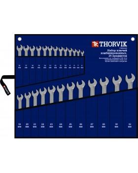 Набор ключей комбинированных в сумке 6-32 мм, 25 предметов