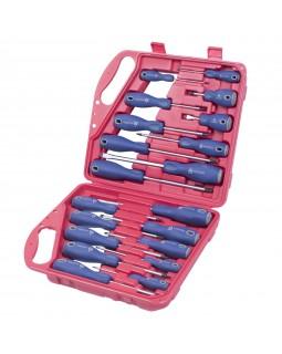 Набор отверток в пластиковом кейсе, 20 предметов МАСТАК 04-20C