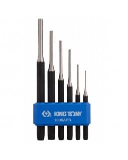 Набор выколоток, 6 предметов KING TONY 1006APR