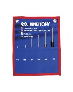 Набор выколоток, чехол из теторона, 6 предметов KING TONY 1006PRN