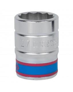 "Головка торцевая стандартная двенадцатигранная 3/4"", 27 мм KING TONY 633027M"