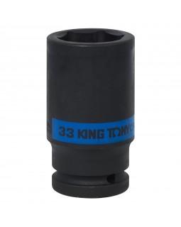 "Головка торцевая ударная глубокая шестигранная 3/4"", 33 мм KING TONY 643533M"