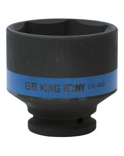 "Головка торцевая ударная шестигранная 3/4"", 65 мм KING TONY 653565M"