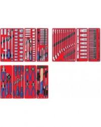 Комплекты из наборов инструментов в ложементах